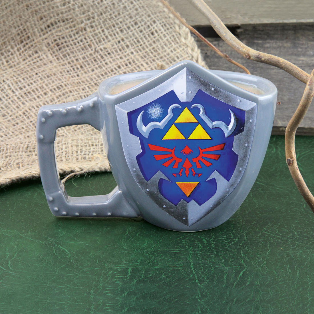 The Legend of Zelda Link Schild Becher