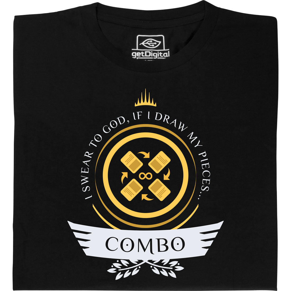 Fair gehandeltes Öko-T-Shirt: Combo Life für Magic-Spieler