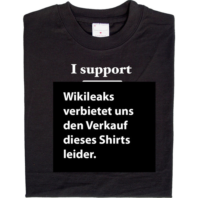 Wikileaks Support