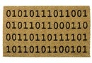 Doormat Binary Welcome