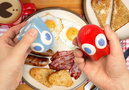 Pacman Ghosts Salt and Pepper Shaker