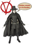 V wie Vendetta Actionfigur mit Sound