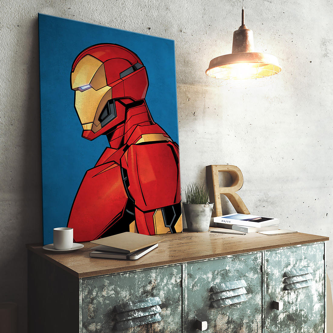 marvel metallposter g nstig bestellen auf viral. Black Bedroom Furniture Sets. Home Design Ideas