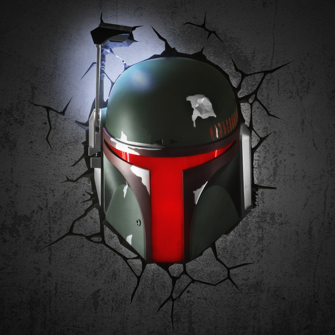 star wars wandlampe boba fett getdigital. Black Bedroom Furniture Sets. Home Design Ideas