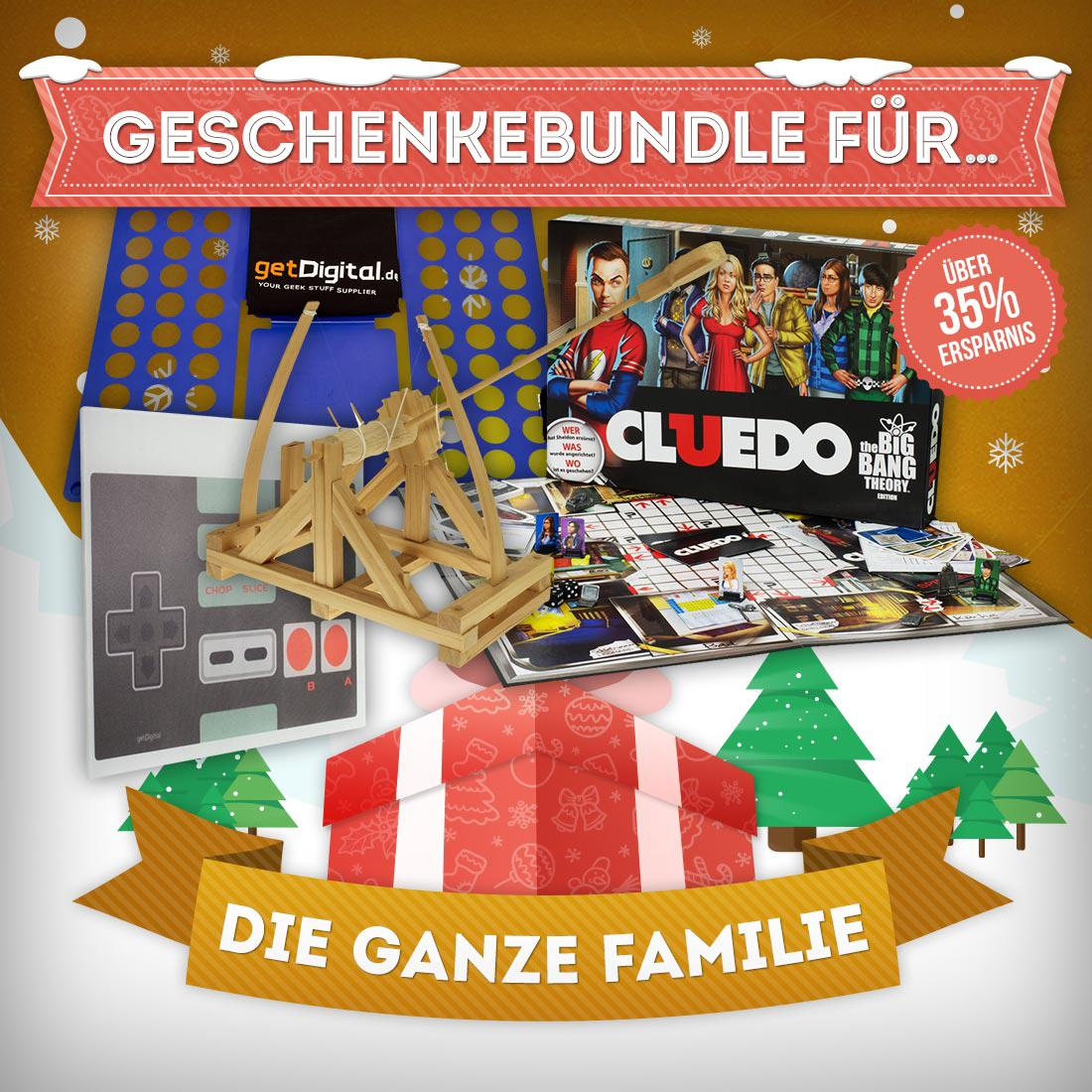 geschenke bundle f r die ganze familie getdigital. Black Bedroom Furniture Sets. Home Design Ideas