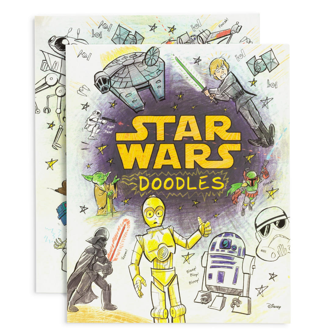 Star Wars Doodles Malbuch | getDigital