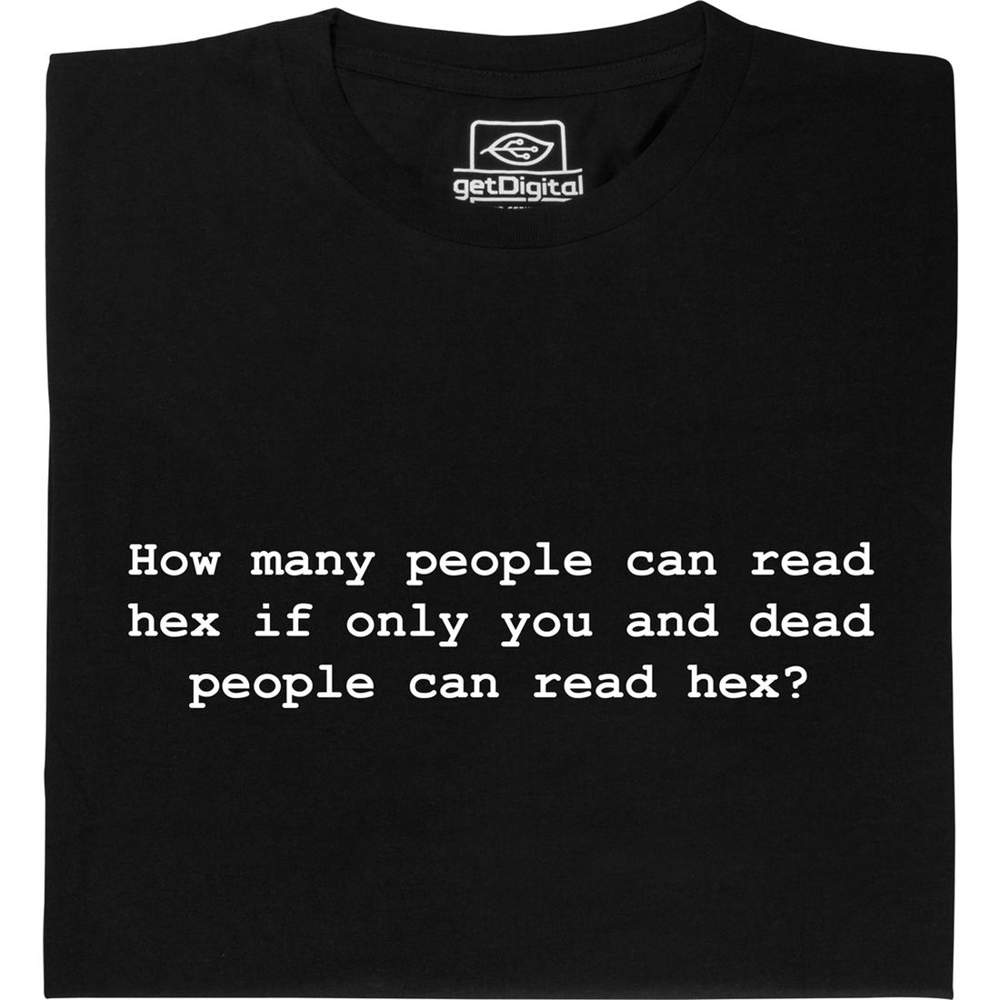 How many people can read hex | getDigital