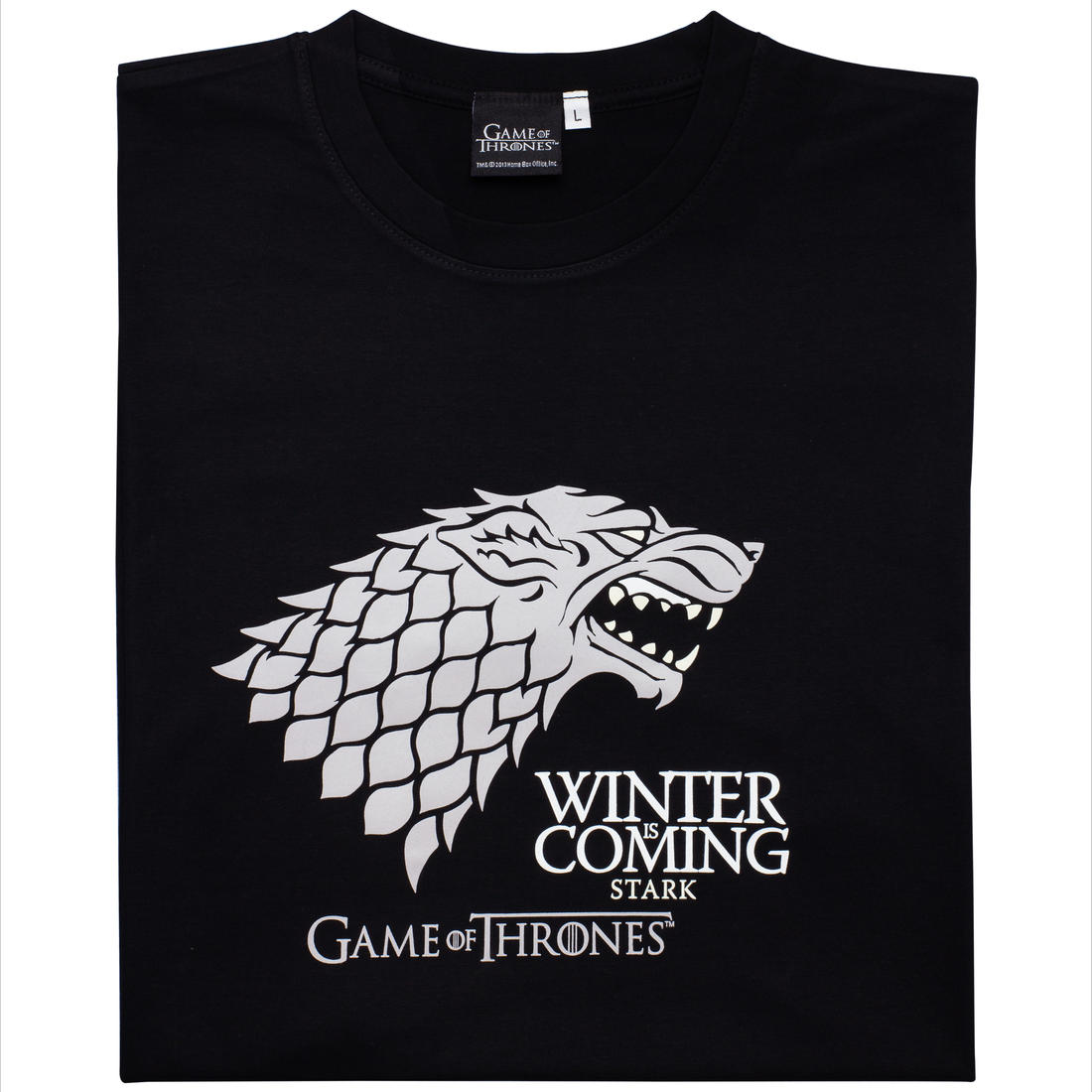 game of thrones t shirt haus stark getdigital. Black Bedroom Furniture Sets. Home Design Ideas
