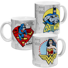DC Comics Becher