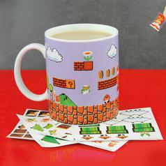 Nintendo Super Mario Level Becher