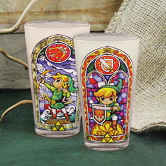 The Legend of Zelda Link Glas