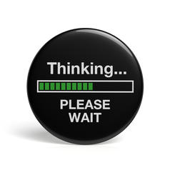 Geek Button Thinking