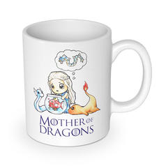Mother of Dragons Becher