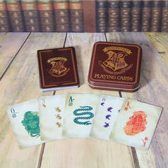Harry Potter Hogwarts Spielkarten