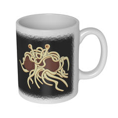 Flying Spaghetti Monster Becher