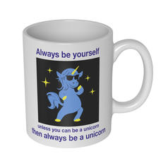 Be A Unicorn Becher