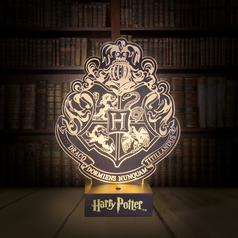Harry Potter Hogwarts-Wappen Lampe