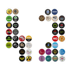 Geek Buttons Bundle 42