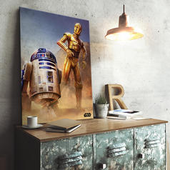 PosterPlate Star Wars Episode IV Metallposter
