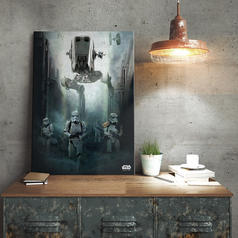 PosterPlate Star Wars Rogue One Metallposter