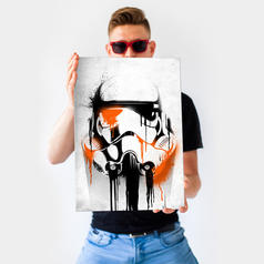 PosterPlate Star Wars Stormtrooper Metallposter