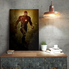 Marvel Iron Man Metallposter