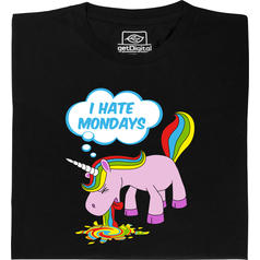 Montags-Einhorn T-Shirt