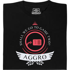 Aggro Life Shirt für Magic-Spieler T-Shirt
