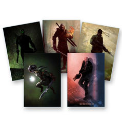 Gaming-Legenden Metallposter