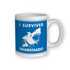 I Survived Sharknado Becher