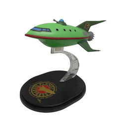Futurama Q-Fig Planet Express Ship