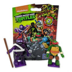 Teenage Mutant Ninja Turtles Mega Bloks Figuren Serie 2