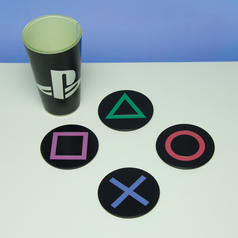 PlayStation Icons Metalluntersetzer