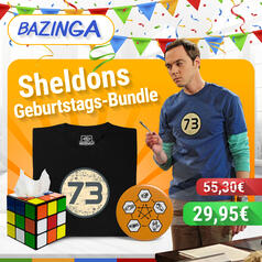 The Big Bang Theory Bundle mit T-Shirt