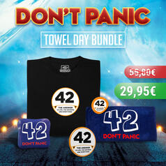 Towel Day Bundle mit T-Shirt