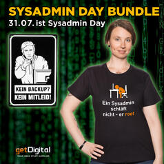 Sys-Admin-Day Bundle mit T-Shirt
