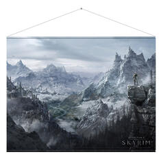 Gaming Wall Scroll Skyrim