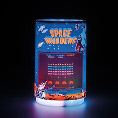 Space Invaders Mini-Projektionslicht