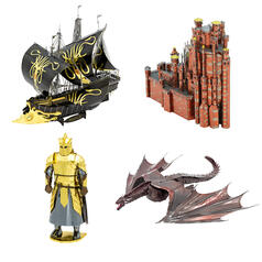 Game of Thrones Metal Earth 3D Bausätze