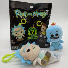 Funko Rick and Morty Mystery Minis Plüsch-Anhänger