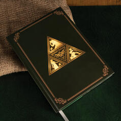 The Legend of Zelda Triforce-Notizbuch mit Leuchtfunktion