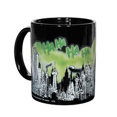 DC Comics Gotham City Thermo-Effekt-Becher