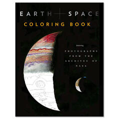 Earth + Space Malbuch