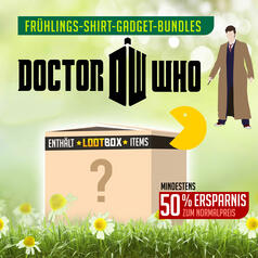 Doctor Who Bundle mit Lootbox-Gadgets