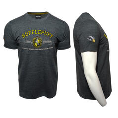 Harry Potter Quidditch T-Shirt Team Hufflepuff Stickerei