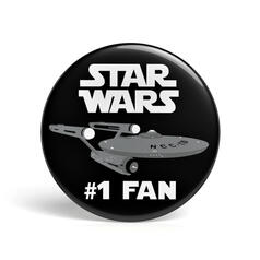 Geek Button Star Wars Fan