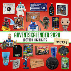 Adventskalender 2020 mit Highlights der Lootbox