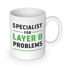 Specialist for Layer 8 Problems Becher