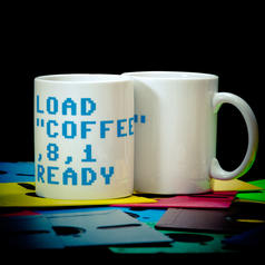 C64 Load Coffee Becher