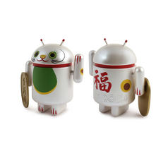 Android Sammelfigur Lucky Cat Series